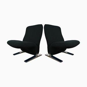Niederländische Sessel von Pierre Paulin für Artifort, 1970er, 2er Set