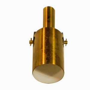 Brass Sonet Sconces by Hans Per Jeppesen for Fog & Mørup, 1960s, Set of 2