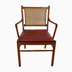 Cherrywood Model PJ-301 Colonial Armchair by Ole Wanscher for Poul Jeppesen, 1960s