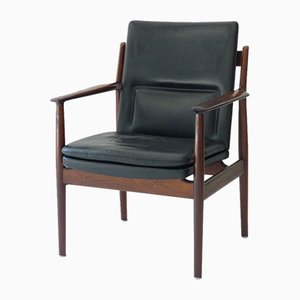 Rosewood Model 341 Armchair by Arne Vodder for Sibast, 1950s