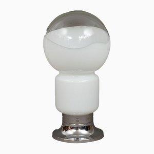 Lampada da tavolo in vetro di Murano attribuita a Carlo Nason per Mazzega, anni '60