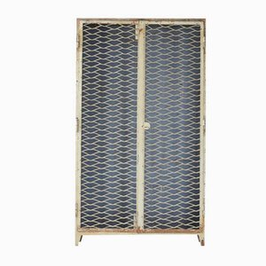 Vintage French Industrial Steel Cabinet, 1940s