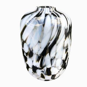 Large Murano Glass Vase, 1980s