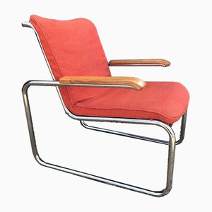 B35 Armchairs by Marcel Breuer for Knoll Inc. / Knoll International, 1970s, Set of 2