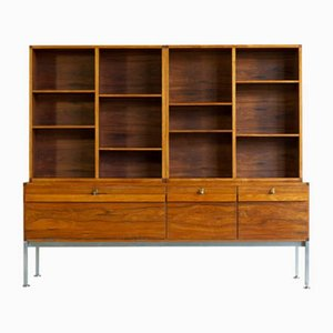 Rosewood Wall Unit by Illum Wikkelsø for P. Schultz & Co, 1960s