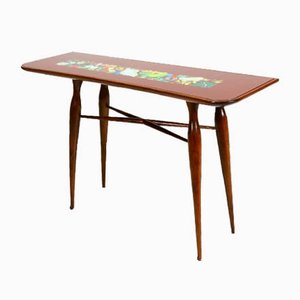 Table Console Attribuée à Repetto Giovanni Battista pour Fuselli e Profumo, 1950s