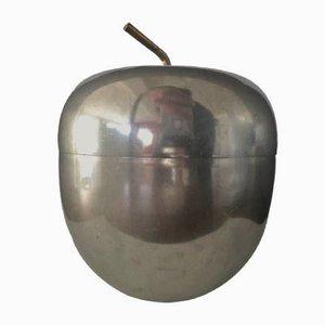 Secchiello per il ghiaccio Apple di Ettore Sottsass per Rinnovel, anni '50