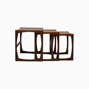 Teak Quadrille Nesting Tables from G-Plan, 1960s
