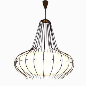 Model 12699 Ceiling Lamp by Angelo Lelli for Arredoluce, 1964