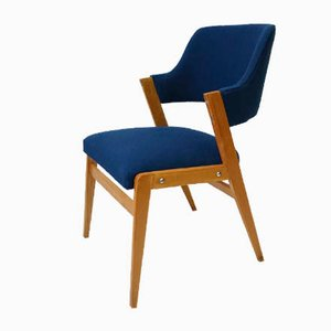 Armchairs by Eddie Harlis for Thonet, 1950s, Set of 2