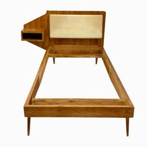 Single Bed Attributed to Gio Ponti, 1950s