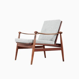 Danish Teak Spade Lounge Chair by Finn Juhl for France & Søn / France & Daverkosen, 1953