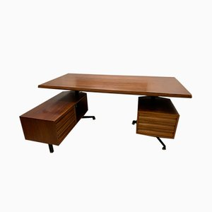 Desk by Osvaldo Borsani for Tecno, 1960s