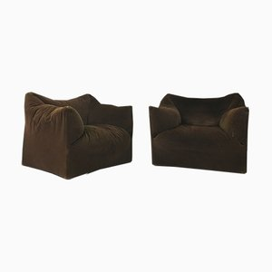 Large Dolls Armchairs by Mario Bellini for Cassina, 1970s, Set of 2