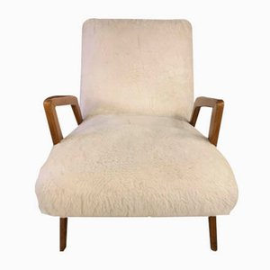 Italian Skeepskin Armchairs by Guglielmo Ulrich, 1960s, Set of 2