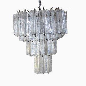 Murano Glass Ceiling Lamp by Toni Zuccheri for Venini, 1950s