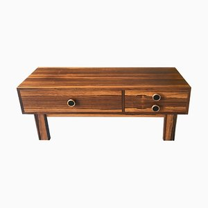 Small Swedish Rosewood Chest of Drawers, 1970s