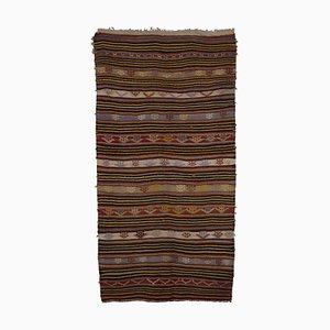 Handgeknüpfter Vintage Kelim Teppich in Pastell-Farbe, 1970er