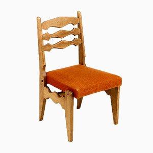 Modell Dumortier Sitzgruppe von Guillerme et Chambron für Votre Maison, 1950er, 6er Set