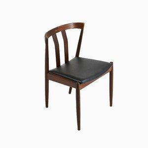 Dänische Palisander Stühle, 1960er, 4er Set