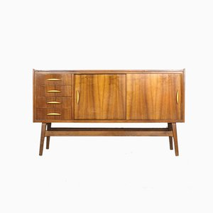 Small Mid-Century German Sideboard, 1950s