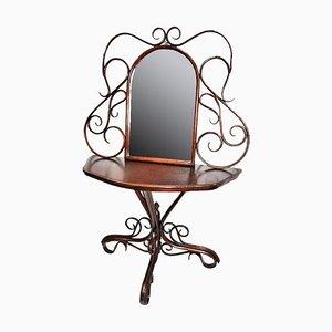 Antiker Konsolentisch mit Spiegel, 1800er