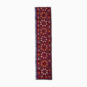 Vintage Handmade Extra Long Suzani Blanket