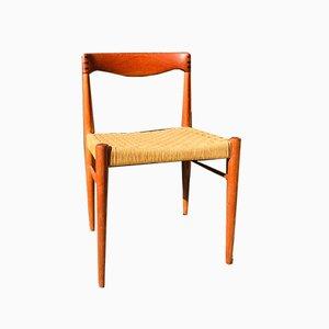 Dänische Mid-Century Esszimmerstühle von HW Klein für Bramin, 1960er, 6er Set
