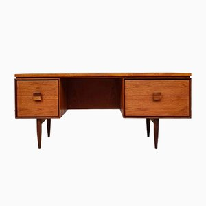 Mid-century Danish Teak Desk by Ib Kofod Larsen for G Plan