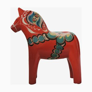Large Swedish Dala Horse by Nils Olsson, 1960s
