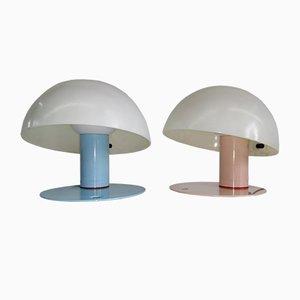 Lampes de Bureau Vintage par Franco Mirenzi pour Valenti Luce, 1970s, Set de 2