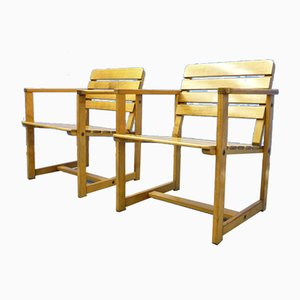 Mid-Century Garden Chair from EMU, 1970s, Set of 2