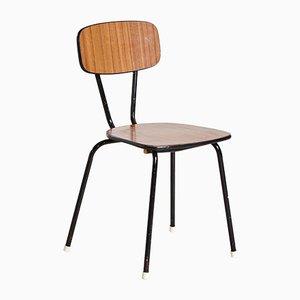 Vintage Brown Side Chair, 1970s
