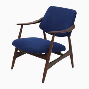Mid-Century Teak Sessel von Louis van Teeffelen für WéBé, 1950er