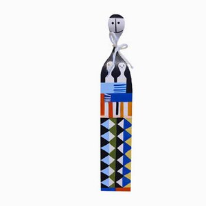Wooden Doll by Alexander Girard for Vitra, 1950s