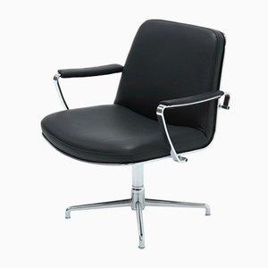 Model JK9351 Swivel Chair by Jørgen Kastholm for Kill International, 1960s