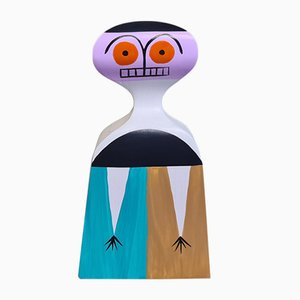 Model Nr 3 Wooden Doll by Alexander Girard for Vitra, 1950s
