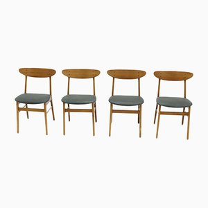Danish Model 210 Chairs from Farstrup Møbler, 1960s, Set of 4