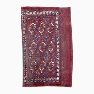 Antique Turkmen Chuval Rug