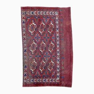 Antique Turkmen Chuval Rug