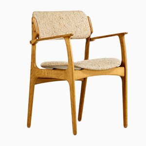 Model 49 Dining Chair by Erik Buch for Odense Maskinsnedkeri / O.D. Møbler, 1960s