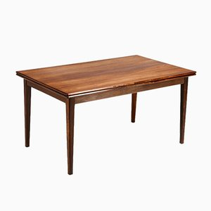 Danish Rosewood Dining Table from Ivan Gern Møbelfabrik, 1960s
