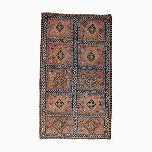 Anatolischer Vintage Teppich mit geometrischem Muster