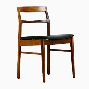 Danish Rosewood Dining Chairs by Henning Kjærnulf for Vejle Mobelfabrik, 1960s, Set of 6