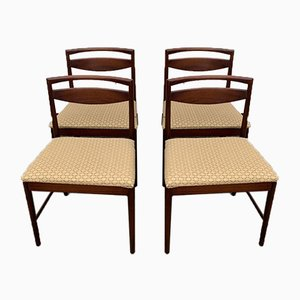 Rosewood Dining Chairs from Macintosh, 1960s, Set of 4