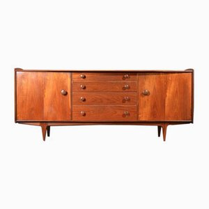 Mid-Century Afromosia and Maetaki Money Sideboard by John Herbert for A. Younger Ltd., 1960s