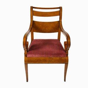 Antike Armlehnstühle aus Ahorn, 1800er, 2er Set