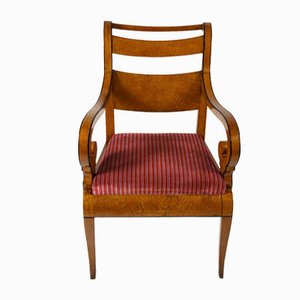Antique Maple Armchairs, 1800s, Set of 2