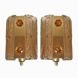 Danish Aladdin Sconces from Vitrika, 1960s, Set of 2