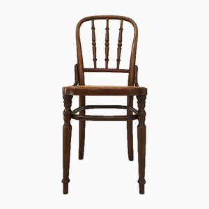 Antique Bistro Chairs from Fischel, Set of 6